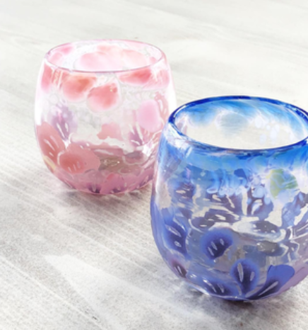 琉球ガラス「琉紅」RYUKYU GLASS